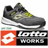 scarpe da lavoro di marca lotto e lottoworks, scarpe alte e basse, stivali e sandali lotto,scarpe in pelle o scamosciate tutte marcate lotto.