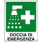 Vendita Cartelli Doccia di Emergenza in diversi formati con e senza scritte, disponibili anche bifacciali e luminescenti.