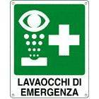 Vendita Cartelli Lavaocchi di Emergenza in diversi formati con e senza scritte, disponibili anche bifacciali e luminescenti.