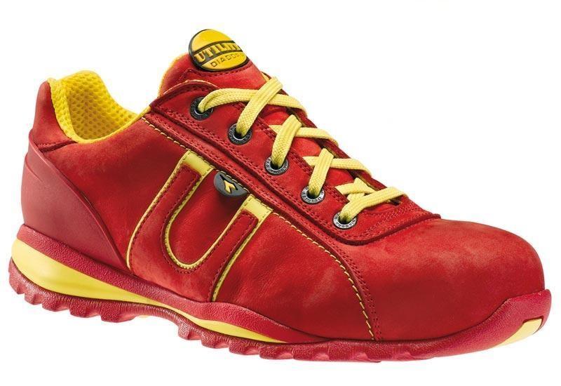 diadora utility glove s3 donna rosso