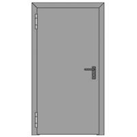 Linea porte tagliafuoco rei 180 ad anta battente for Porte rei 60 prezzo